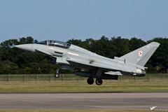 RAF Typhoon T1 ZJ910 landing