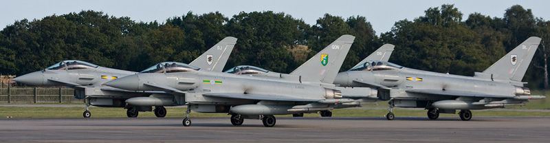 Typhoons ready to take off