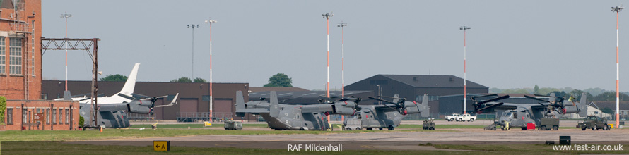 RAF Mildenhall 18th April 2011