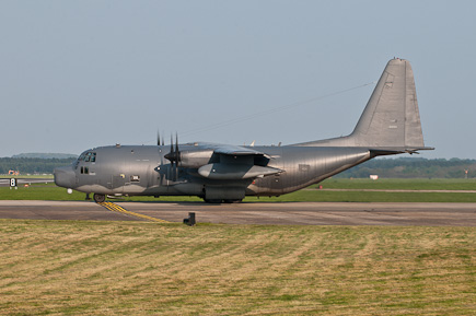 USAF SOG MC-130P 66-0220 holding on the taxiway