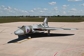 Vulcan XH558 at Robin Hood Airport Photo 1