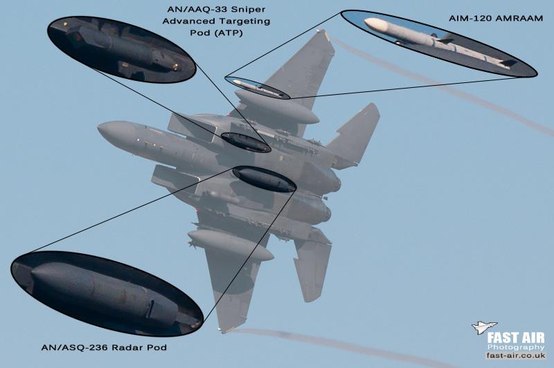 F-15E recce loadout cutout
