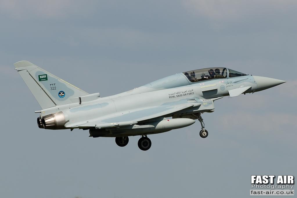 RSAF Typhoon 322