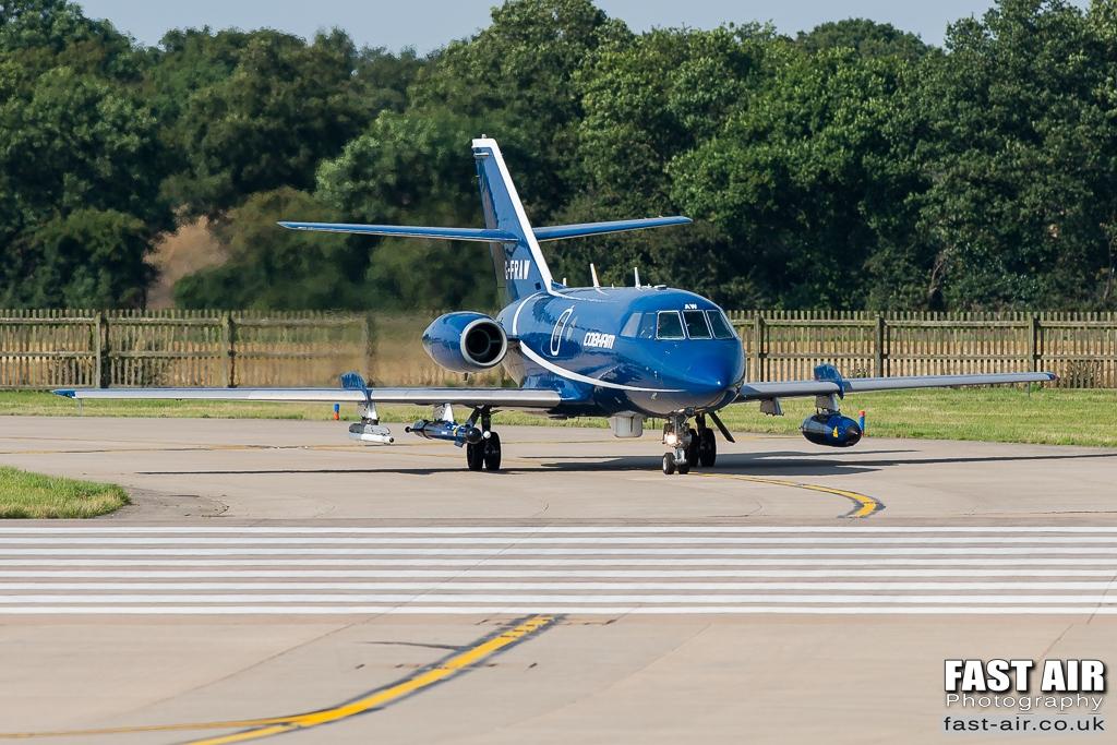 Cobham Falcon 20 G-FRAW