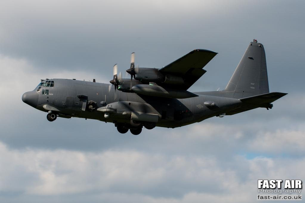 USAF AC-130U 87-0128