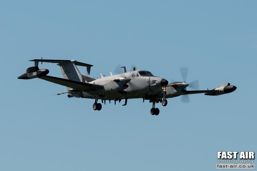 USAF US Army RC-12X 93-0701