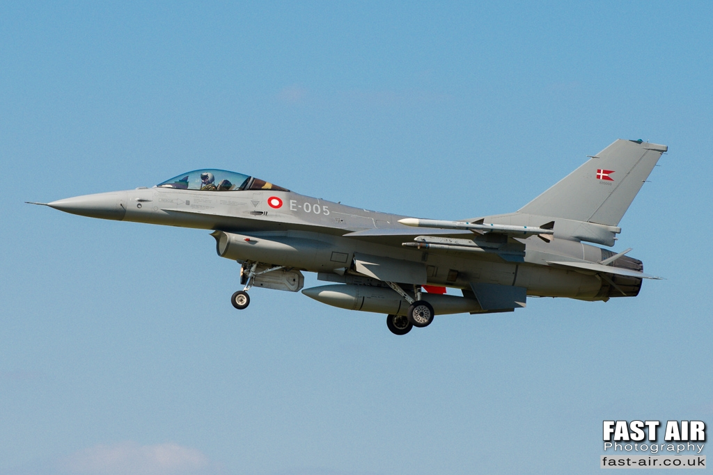 RDAF F-16AM E-005