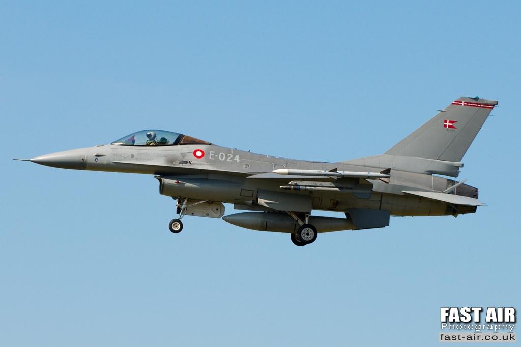 RDAF F-16AM E-024