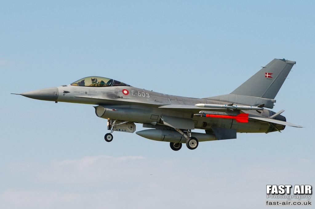 RDAF F-16AM E-603