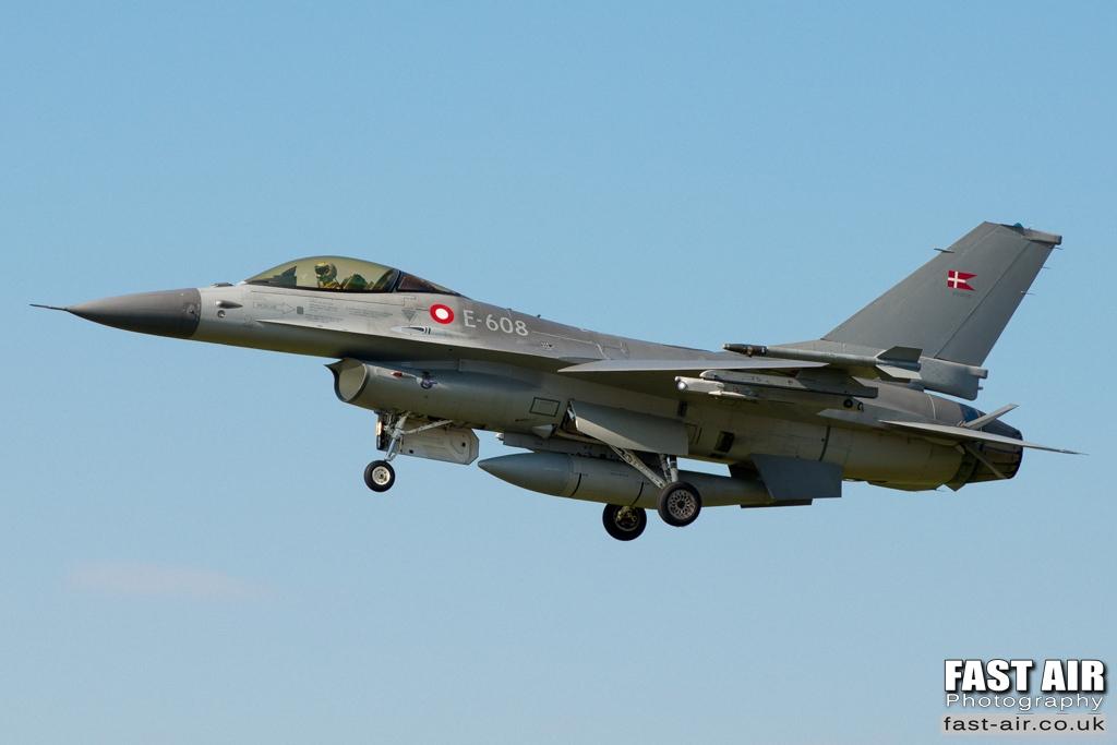 RDAF F-16AM E-608
